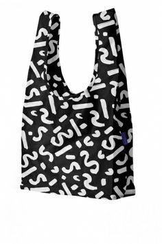 BAGGU Paint Black Bag