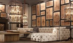 Do you want the best of both words? These 20 amazing living rooms inspired by Restoration Hardware are the perfect mix of class and relaxation.