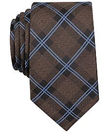 Bar III Westbrook Check Tie, Only at Macy's