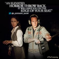 The Conjuring!! I want to see it sooo bad! I rented it but Andrew wont watch it with me :( and im to scared to watch it alone :)