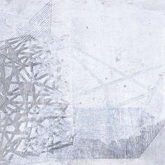 Helen Booth 30cm x 30cm veiled Geometric 2013