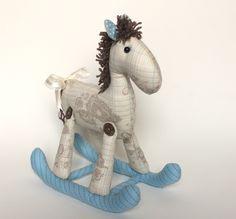Cavalinho Balanço de pano - brinquedo