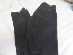 EARNEST SEWN JEANS HARLAN 94Z Lot #750 Black Cigarette Leg W/ Zippers 29 #EarnestSewn #CIGARETTELEG