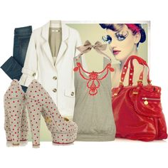 """Polka Fun"" by sanooy on Polyvore"