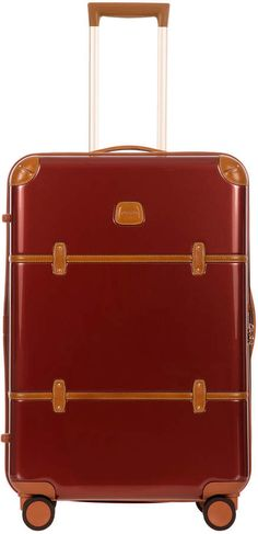 Shop Bellagio Spinner Luggage from Bric's at Horchow, where you'll find new lower shipping on hundreds of home furnishings and gifts. Alex Toys, Brics, Double Deck, 5 D, Purses And Bags, Suitcase, Luxury Fashion, Leather, Suitcases