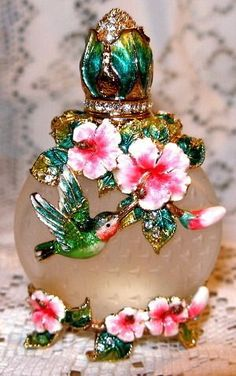 Austrian Crystal Perfume bottle