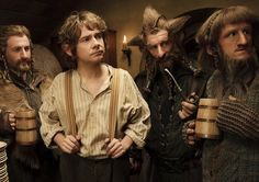 The-Hobbit: An Unexpected Journey • The Hobbit: The Desolation of Smaug • The Hobbit: There and Back Again♥.•:*´¨`*:•♥Trilogy.