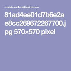 81ad4ee01d7b6e2ae8cc269672267700.jpg 570×570 pixel