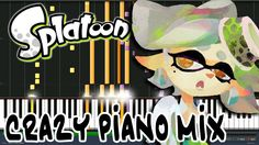 Crazy Piano Mix! TIDE GOES OUT (Splatoon) Marie Solo Song