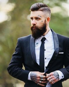 Beard styles for men, hair and beard styles, hair styles, beard game, Long Beard Styles, Hair And Beard Styles, Bart Styles, Beard Tips, Beard Ideas, Beard Game, Style Masculin, Perfect Beard, Beard Lover