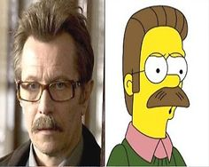 Ned Flanders - 7 Real Life People Who Look Like Famous Cartoon Characters