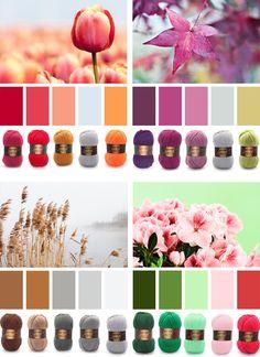 kleurencombi's met garen van Stylecraft Special dk
