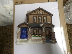 California creations craftsman house christmas holiday village se146