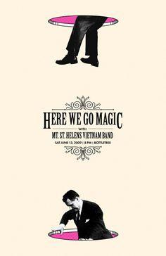Here We Go Magic - Design: Derek Prevatt
