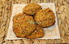 CHIFTELUTE DE LEGUME Raw Vegan, Tandoori Chicken, Baby Food Recipes, Food Dishes, Muffin, Breakfast, Ethnic Recipes, Kitchen, Diet