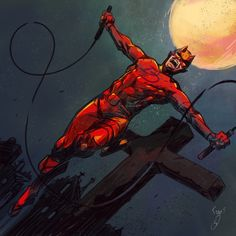 herochan: Daredevil Art by Fabio Danisi - Comics, Webcomics, and other such Daredevil Art, Marvel Comics, Deadpool, Spiderman, Fan Art, Superhero, Artwork, Netflix, Nerd