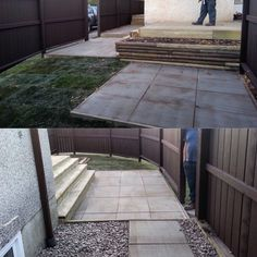 Don't judge a lawn by it's size, we don't! New deck, patio stones and sod make it just as good as any other.