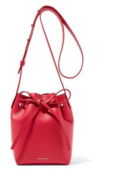 Mansur Gavriel - Mini Mini leather bucket bag 717d6d8a1e416