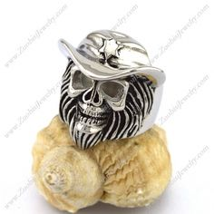 r002896 Item No. : r002896 Market Price : US$ 30.60 Sales Price : US$ 3.06 Category : Skull Rings