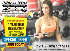 Specials - Gym in Brampton Beauty Spa, Fun Workouts, 1 Year, Swimming Pools, Weight Loss, Events, Gym, News, Fitness