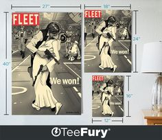 """About this Pop Art Print Sizes Available: 12""""x16"""", 18""""x24"""", 27""""x40"""" Paper Type: 110# White Cover Paper  @teefury"""