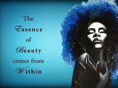 The essence of beauty comes from within