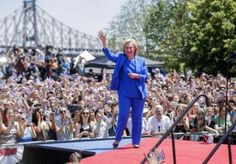 Hillary Clinton launches her 2016 presidential campaign