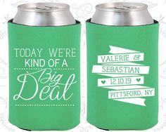 Today We are Kind of a Big Deal Custom Wedding by MyWeddingStore