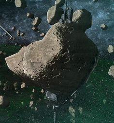 Czerka asteroid mining facility