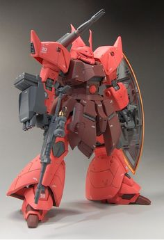 MG 1/100 Gelgoog Cannon Custom Build  by Goemon   Great modification and detailing. The paint job is looking very nice and smooth too! I al...