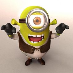 minions mashups shrek 470x470 40 Eye Popping Mashups of Minions