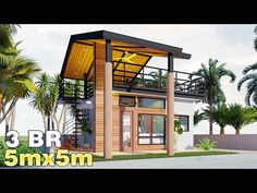 Modern Bungalow House Design, House Roof Design, Small Bungalow, Modern Small House Design, Villa Del Carbon, Best Small House Designs, Small Cottage House Plans, Rooftop Terrace Design, Philippine Houses