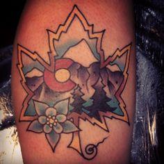 ishmael tattoo, ishmael tattoo colorado springs, lucky devil tattoo colorado springs, ishmael lucky devil tattoo, colorado tattoo, custom tattoo, color tattoo, mountain tattoo, rocky mountain tattoo, lucky devil tattoo colorado springs, best tattoo shop in colorado springs