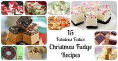 Christmas Fudge: 15 Festive Holiday Fudge Recipes!
