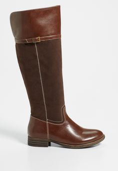 Samantha faux leather and faux suede boot (original price, $59.00) available at #Maurices