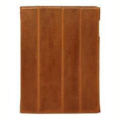 Our iPad 3 Smart Cover in rich honey Saddle Heritage leather $295