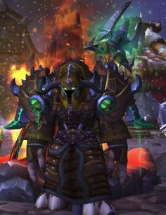 Green and brown leather xmog. I *think* this would be available to all leather wearers not just druids. Not sold on the belt.