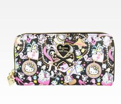 Tokidoki x Hello Kitty Long Wallet  Yeah, at $75, I will be admiring it from afar