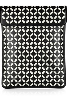 Alaïa | Perforated leather iPad case
