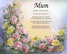 poem to a wonderful mother - Buscar con Google