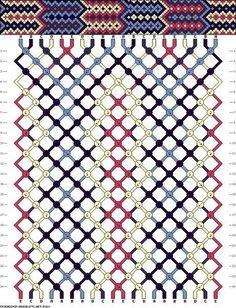 Мастер-класс по плетению фенечки из ниток мулине по схеме. | ВДНТ - лучшие работы мастеров рукоделия