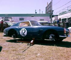Ferrari 250 GT SWB at Sebring 1961 The great racing journalist Denise McCluggage and close friend Allen Eager drove this Ferrari 250 GT SWB at Sebring in 1961. They finished 10th and first in class. The car was powered by a 3-liter V12.