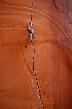 ♂ Outdoor adventure rock climbing by Whit Richardson