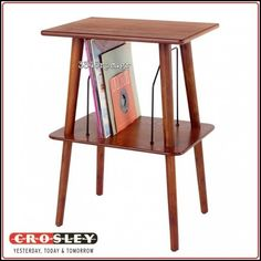 Crosley Manchester Turntable Stand-Paprika,3345rpm.gr