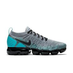 "Nike Air VaporMax Flyknit 2 ""Dusty Cactus"" Men's Running Shoe - Main Container Image 1 Basketball Shoes For Men, Basketball Court, Running Shoes For Men, Casual Outfits, Men's Outfits, Cleats, Nike Free, Nike Air Vapormax, Me Too Shoes"