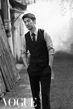 Yoon Kye Sang is Featured in Vogue Magazine | Koogle TV