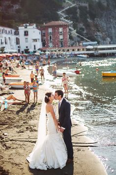 Un destination wedding a Sorrento: Tanya e Daniel