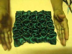 Tutorial  cojin drapeado Crochet Fabric, Crochet Pillow, Smocking Patterns, Sewing Patterns, Quilting Tutorials, Craft Tutorials, Canadian Smocking, Couture Sewing Techniques, Smocks