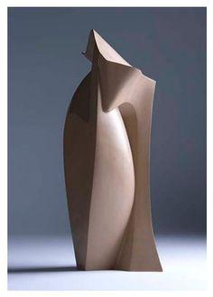 'Hidden Dip' (hand-built ceramic stoneware sculpture) by Ed Bentley. #plocomiPottery