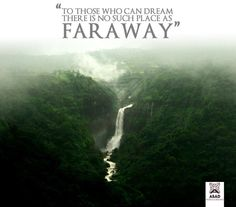 To those who can dream there is no such place as faraway. #travel #quote #travelquote
